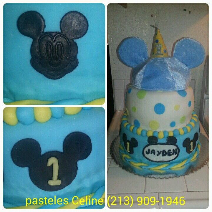Baby miky cake