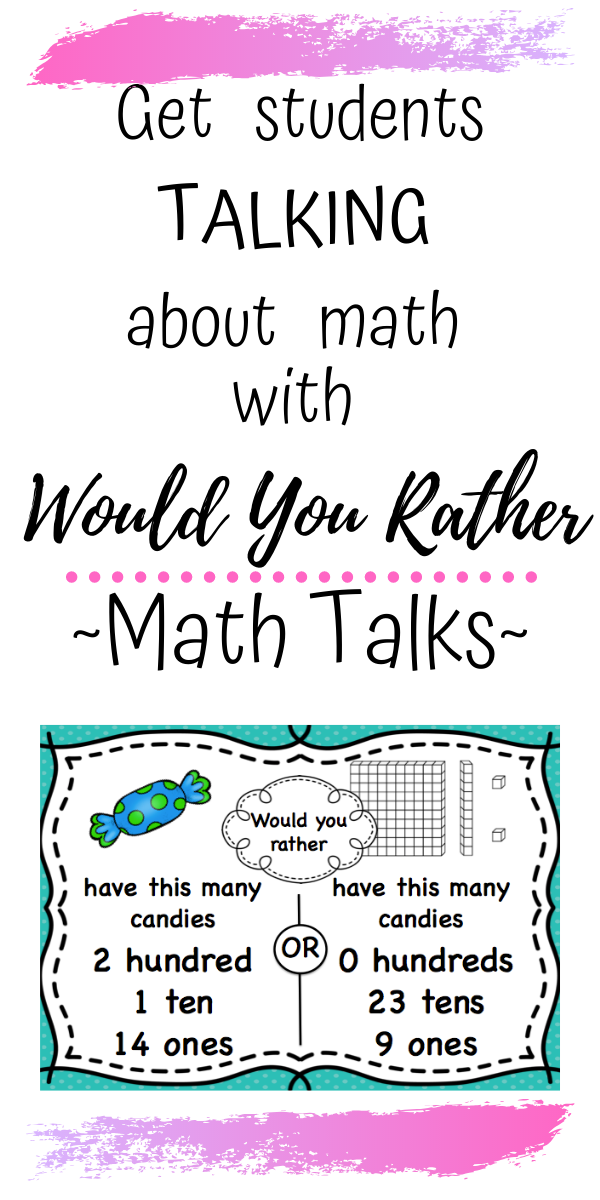 Math Talks and Math Centres, Get Students TALKING About Math!
