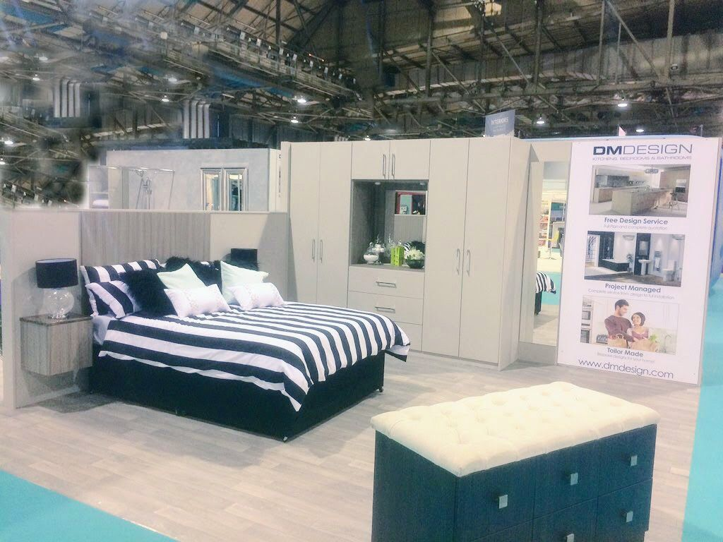 Our stand at the Ideal Home Show 2018 Ideal home show