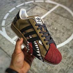 Custom Adidas Superstar II WarBird Dee  1ddc03f0c8