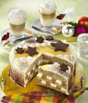 Eierlikör-Nougat-Torte