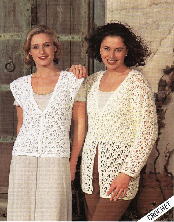 Ladies CROCHET PATTERN Ladies Crochet Cardigan Ladies Crochet ...