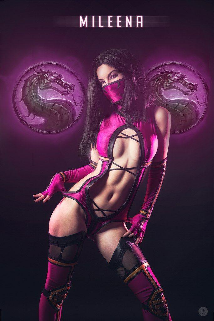 Сексуальная китана мортал комбат