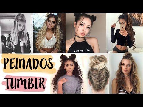 Peinados De Moda 2017 Tumblr Hairstyles 2017 2018 Baddie Youtube