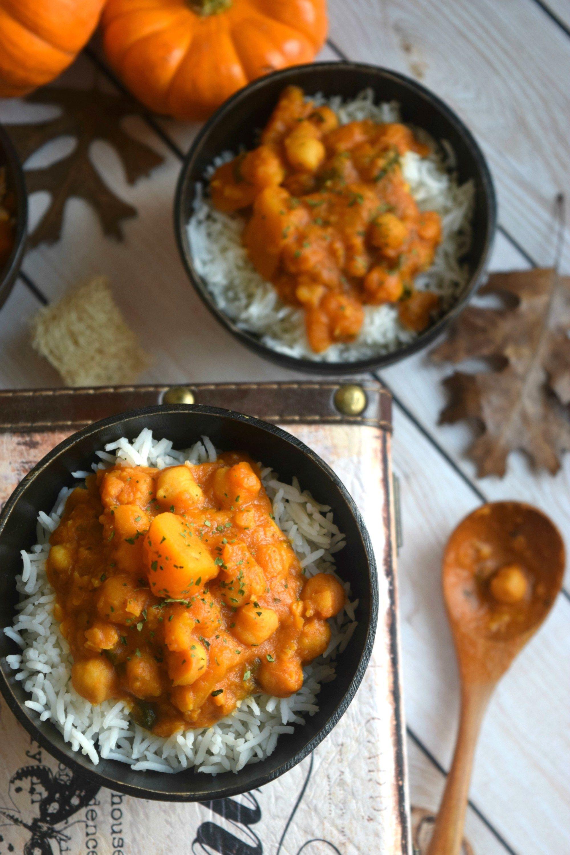 Butternut Squash & Chickpea Thai CurryCurries & Gravies International Cuisine