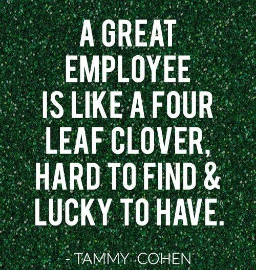Words Of Thanks And Appreciation Quotes: Employee Appreciation Day Inspirational Quotes, Employee