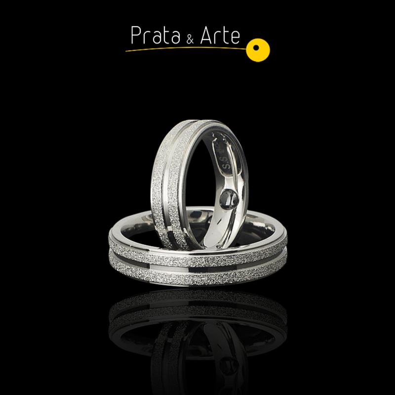 cceeb80dcfaa4 Pin de Prata e Arte em Alianças Prata   Arte