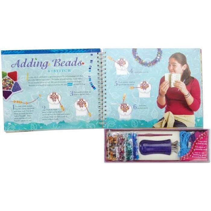 Spool Knit Jewelry Book Kit-