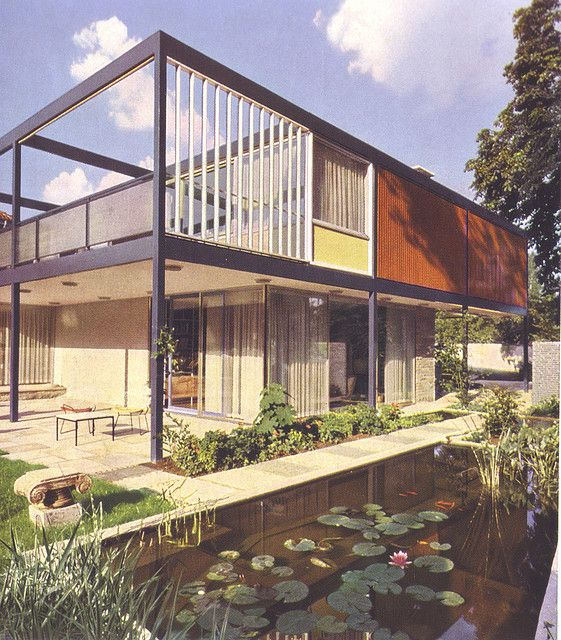 Mid Century Modern Design Cool House: Cool Houses & Buildings