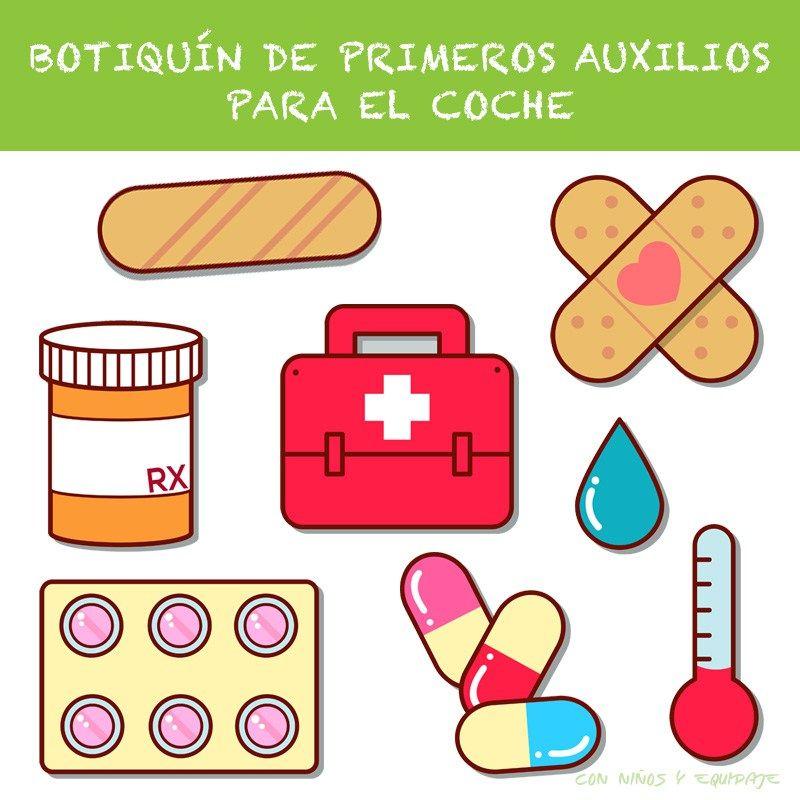 Botiquín de Primeros Auxilios de Coche | idees | Pinterest ...