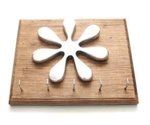 Porta llaves madera rustica mancha #porta #llaves #mancha #madera #rustica #pewter