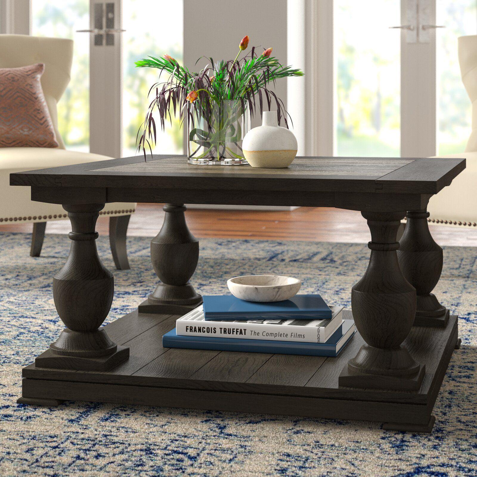 Raheem Floor Shelf Coffee Table With Storage Reviews Joss Main Coffee Table Decorating Coffee Tables Drum Coffee Table [ 1600 x 1600 Pixel ]