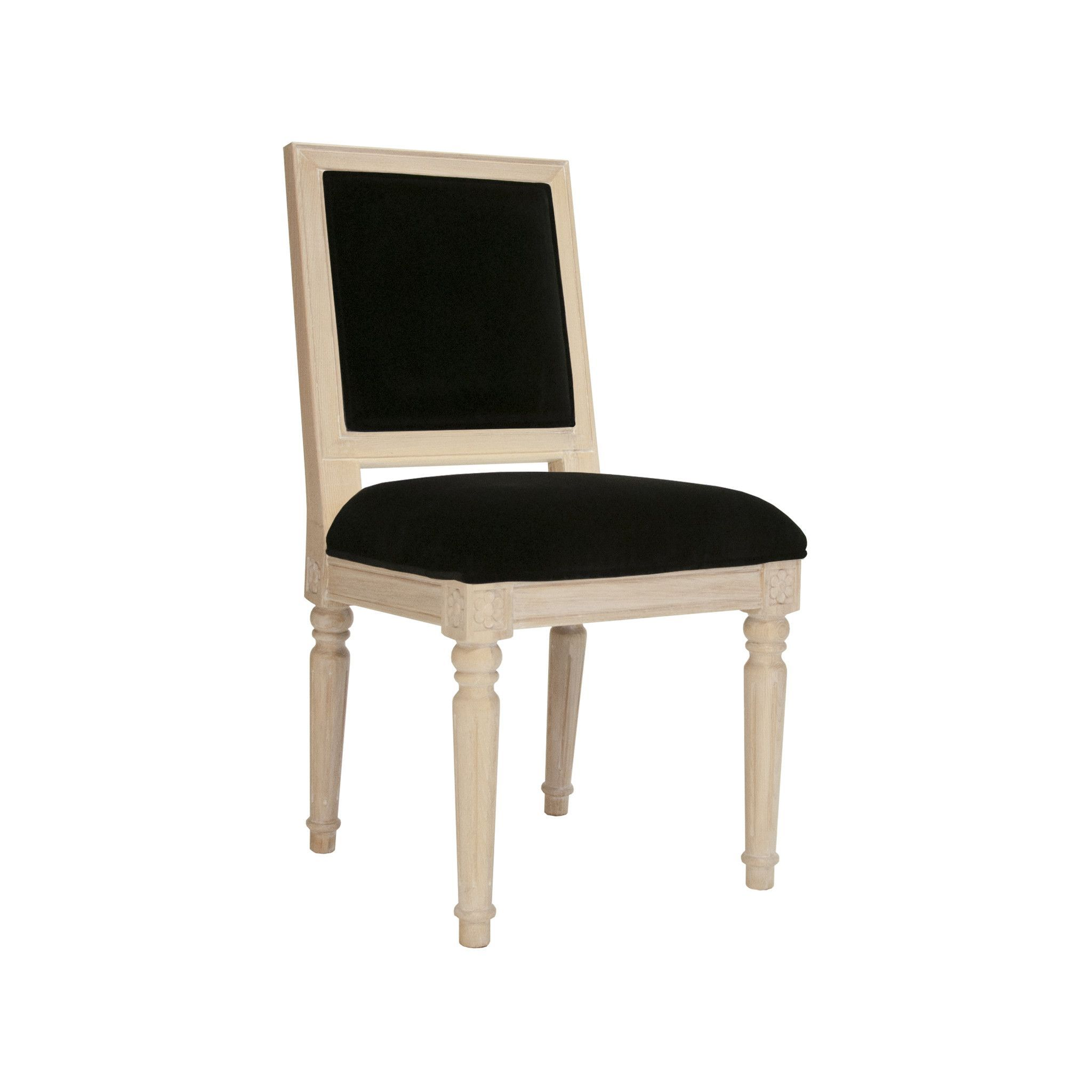 Information: Worlds Away Scarsdale Chair  Features: Worlds Away offers the Scarsdale cerused oak or black cerused oak square back chair in lime green, navy, bl