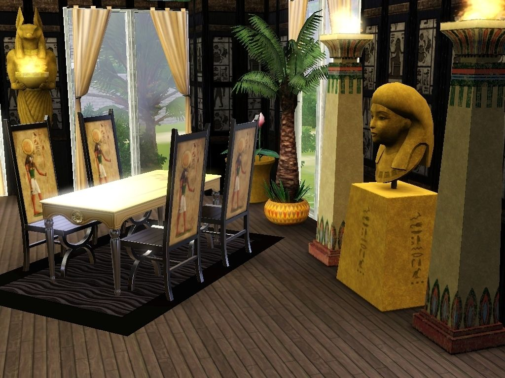 Dining Room Egyptian Interior Designs For Homes