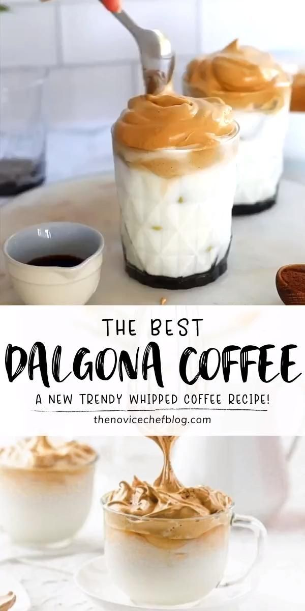 Learn all the tips for the best version of a Dalgona Coffee! All you need to easily make this recipe at home are 3 main ingredients, a little patience, and a strong wrist. Check out other ways you can enjoy this sweet and creamy drink perfect for the hot summer days!