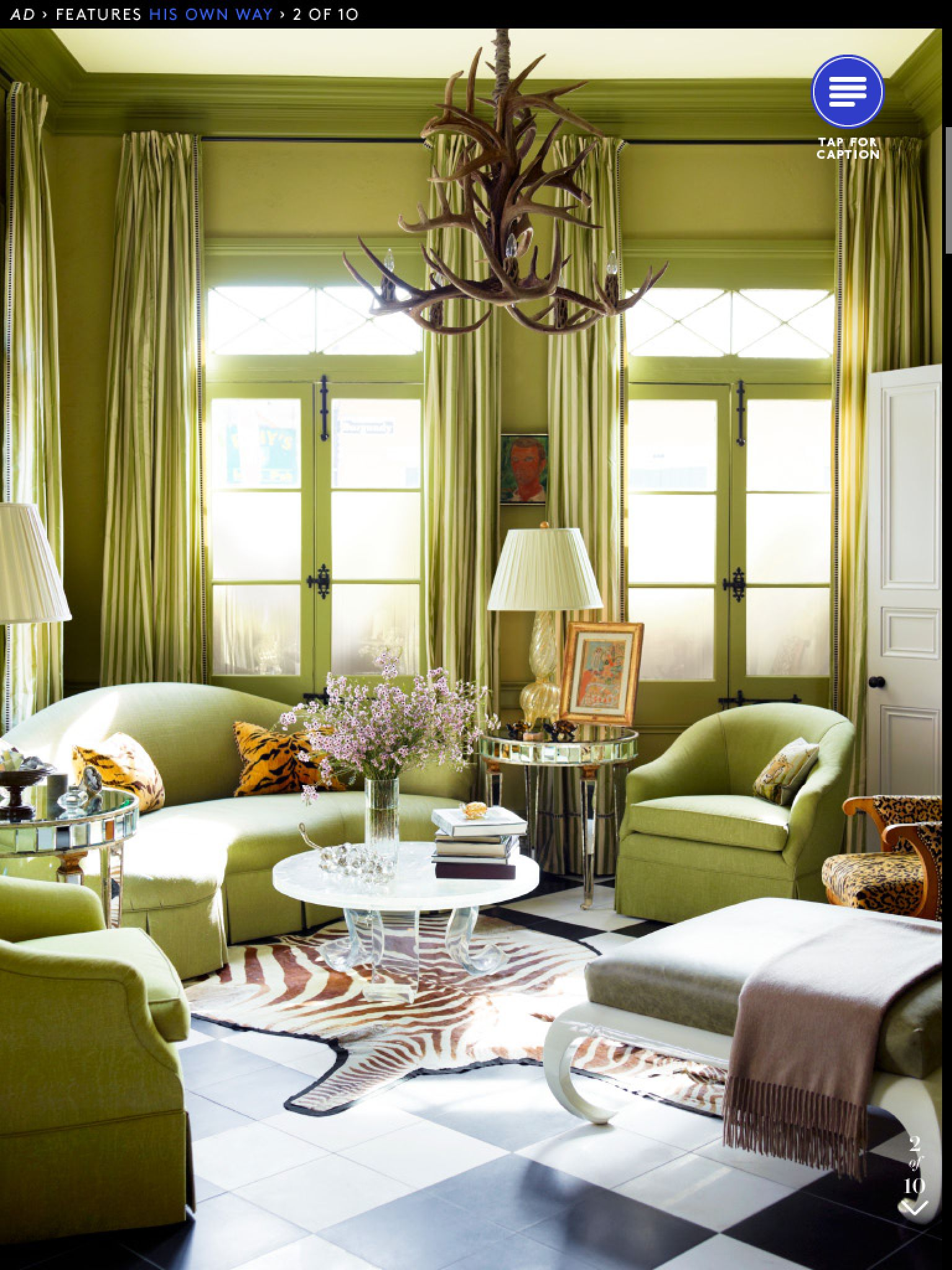 Pin by May Albinali on Living rooms   Green rooms, New ... on French Creole Decorating Ideas  id=29675