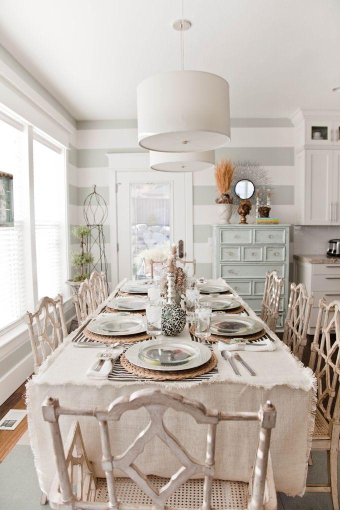 Decadent Dining Shabby Chic Dining Room Chic Dining Room Dining Room Design