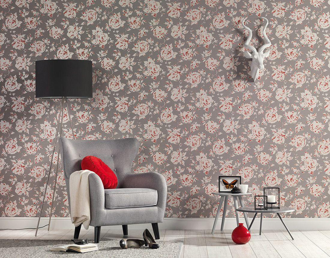 Tapetenshop De florale tapeten majestic von lutéce und a.s. création, #tapetenshop