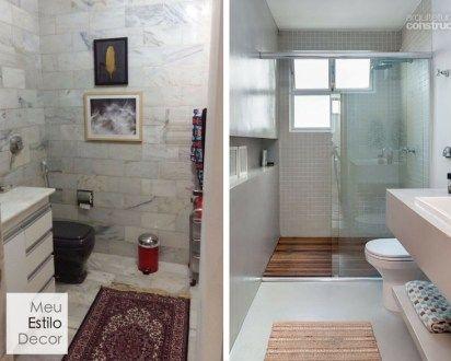 Banheiro feio é o pesadelo de quem mora de aluguel. Neste post eu vou te mostrar que é possível salvar o seu banheiro sem reforma.