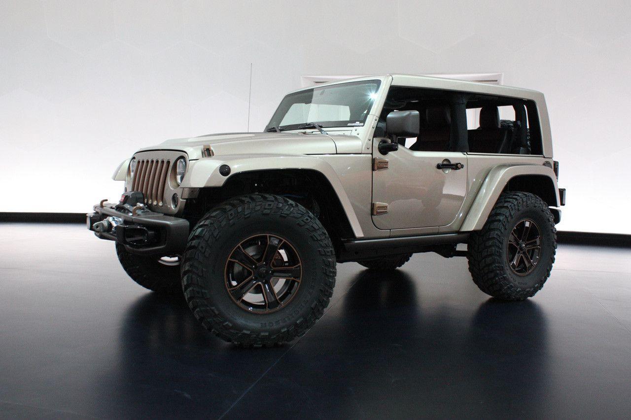 Jeep Wrangler 2 Door Flat Top WOW! Jeep