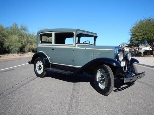 1929 Chevrolet Ac 2 Door Sedan