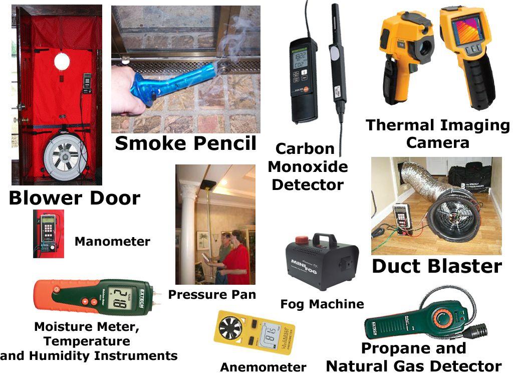 Energy Audit Tools Energy Audit Gas Detector Thermal Imaging