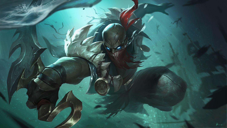 "Artstation Lol Fanart Pyke Ɯ¨è®·çš"" ǎ‹æŸ Lol League Of Legends League Of Legends Poster League Of Legends Characters"