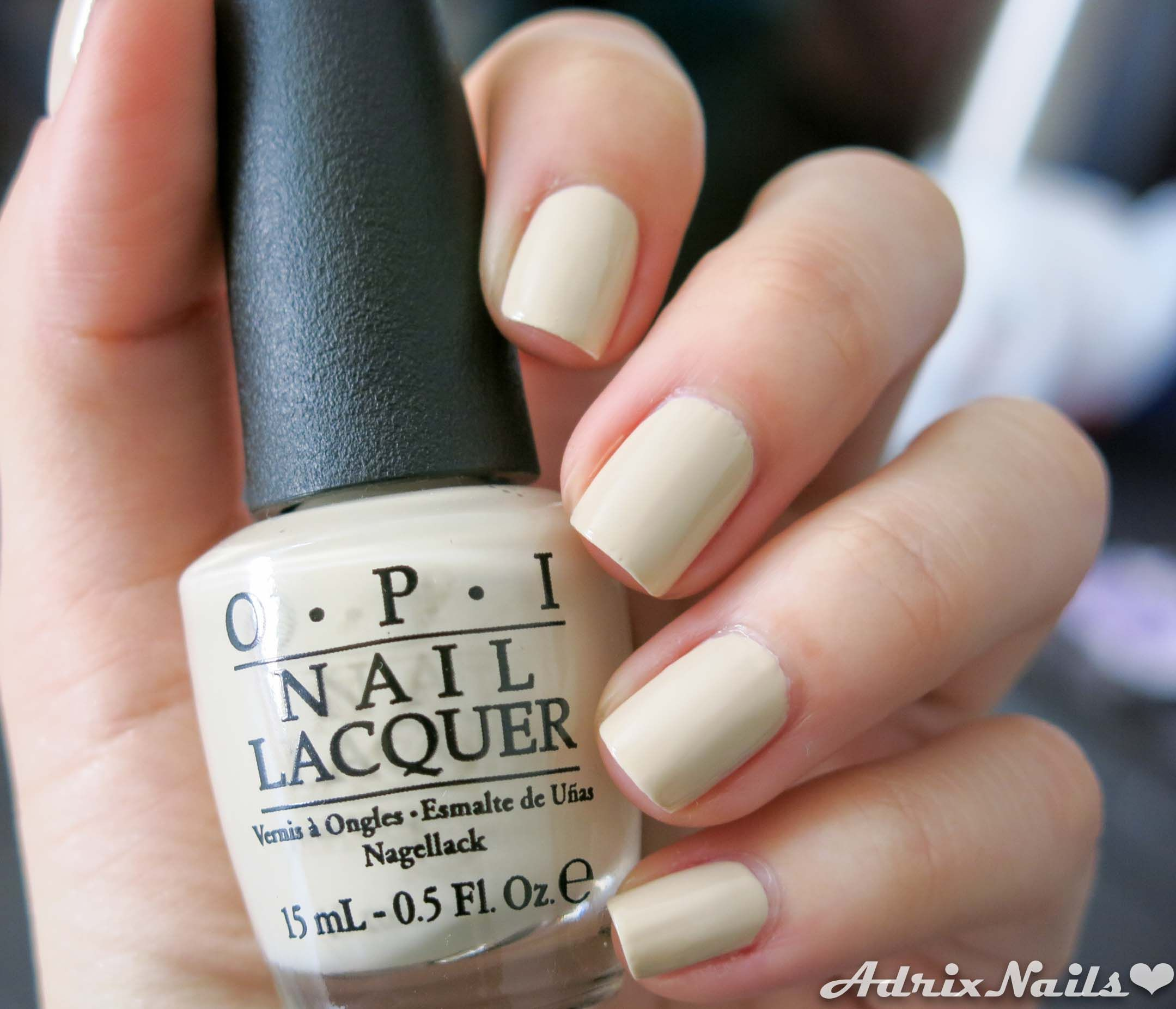 OPI - Coca Cola - You\'re So Vain-illa | Nails | Pinterest | Colores ...