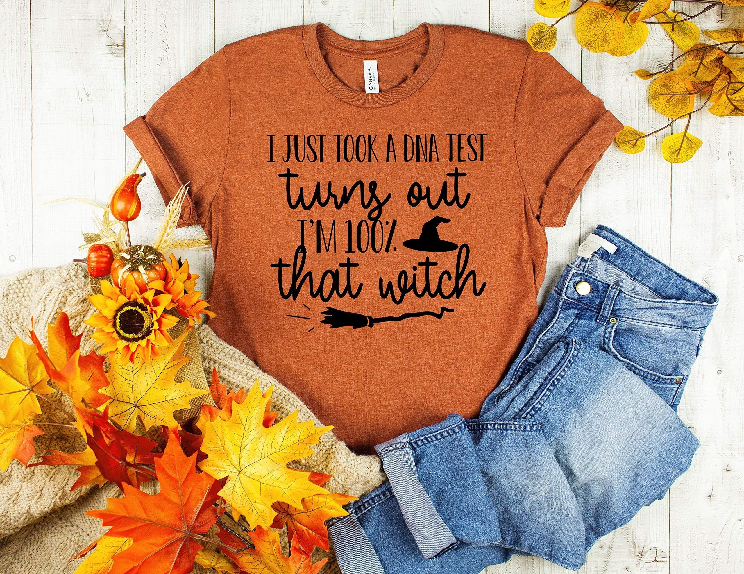 Autumn tshirt Cute Witch Shirt Cute Fall tee Pumpkin tshirt Funny Fall Hey There Pumpkin tshirt Halloween tshirt Cute Halloween Shirt