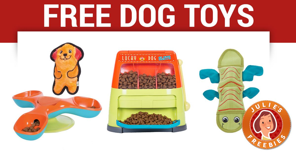 Free Dog Toys Dog Toys Free Dogs Free Stuff By Mail