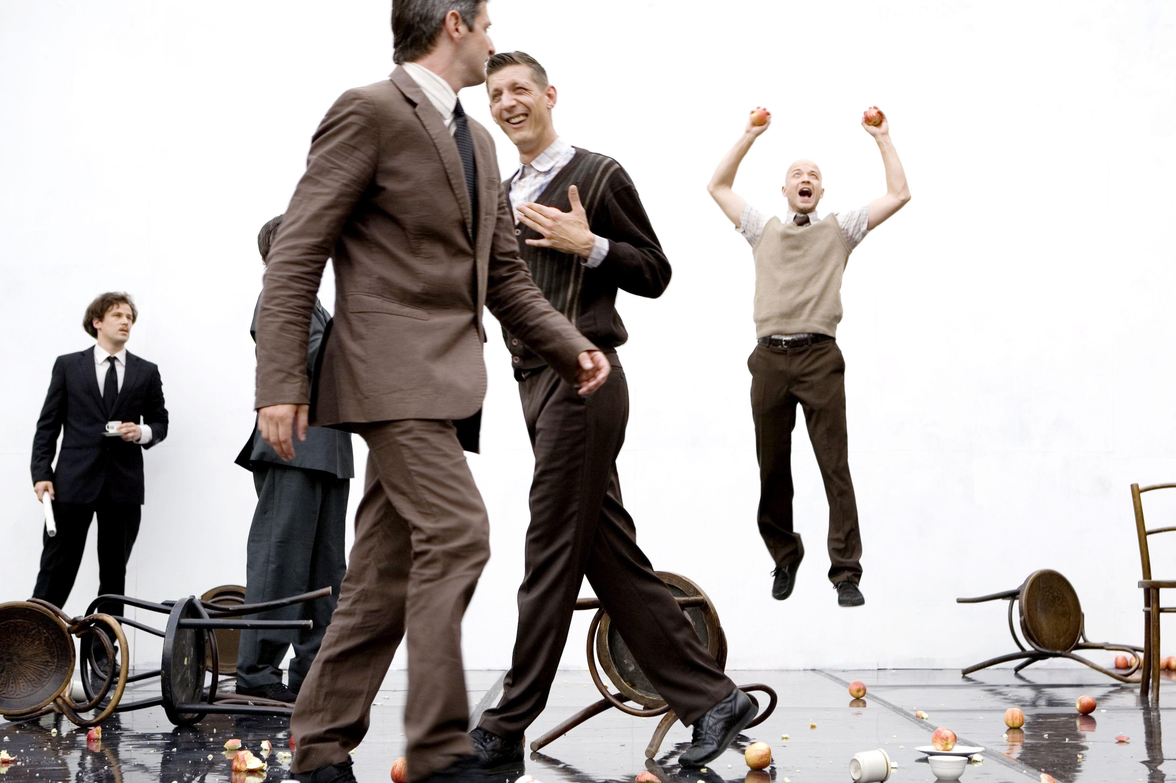 Gandini Juggling: Smashed Del 30 de enero al 2 de febrero de 2014 en el #CircoPrice de #Madrid