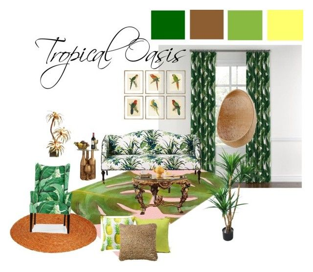 Tropical Oasis | Oasis, Decorating and Interiors