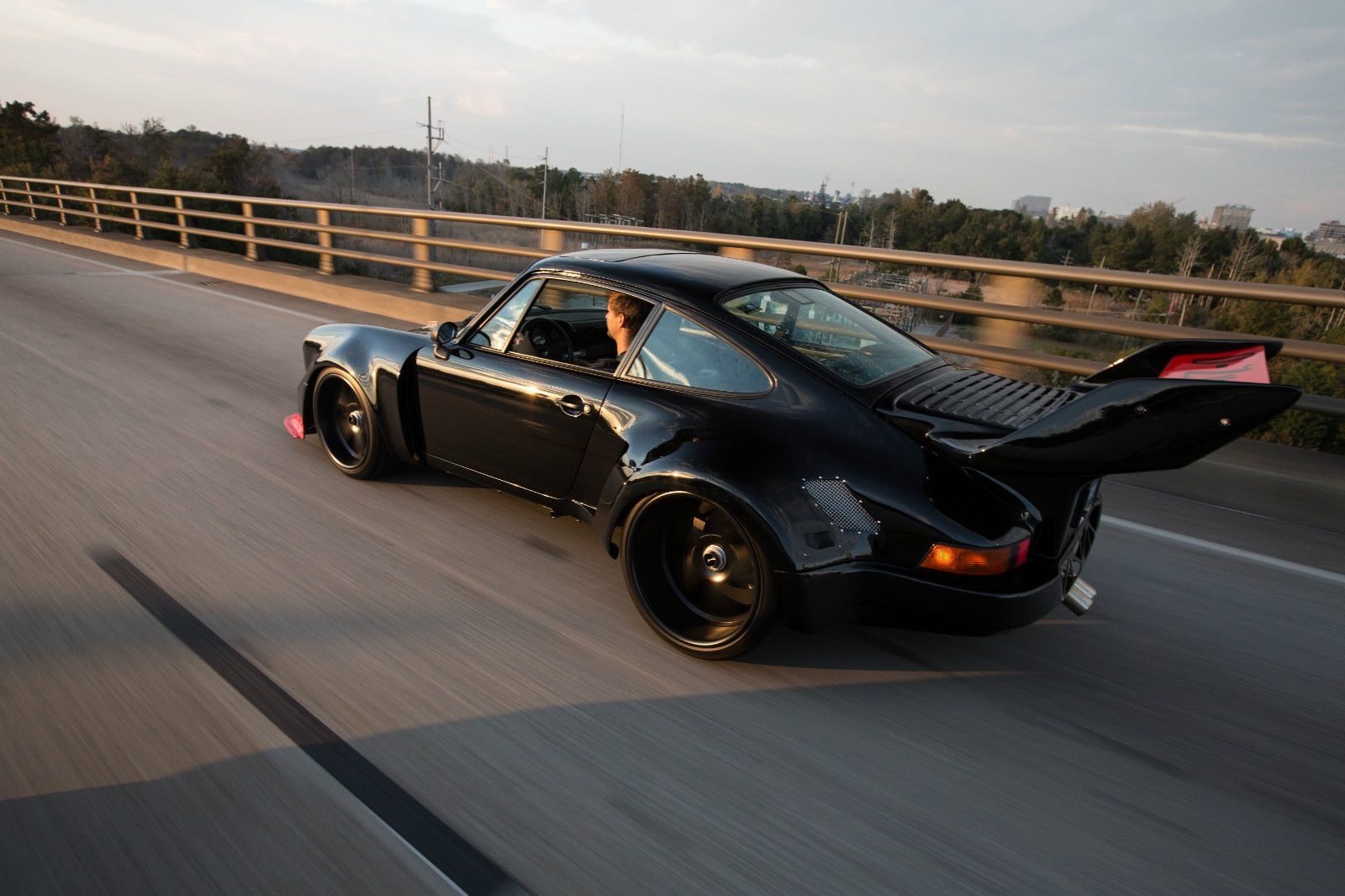This Modified Porsche 930 Turbo Is What Hardcore Dreams Are Made Of