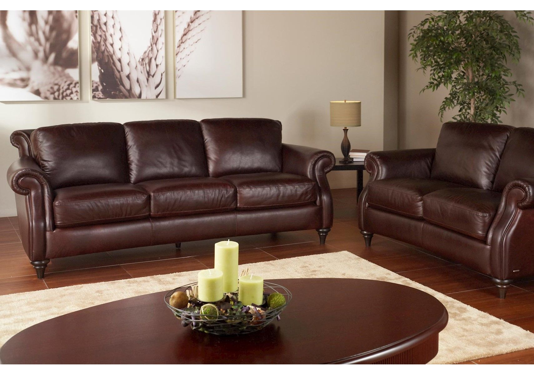 Traditional Leather Sofa With Wood Feet By Natuzzi Editions Becker Furniture World Twin Cities Minneapolis St