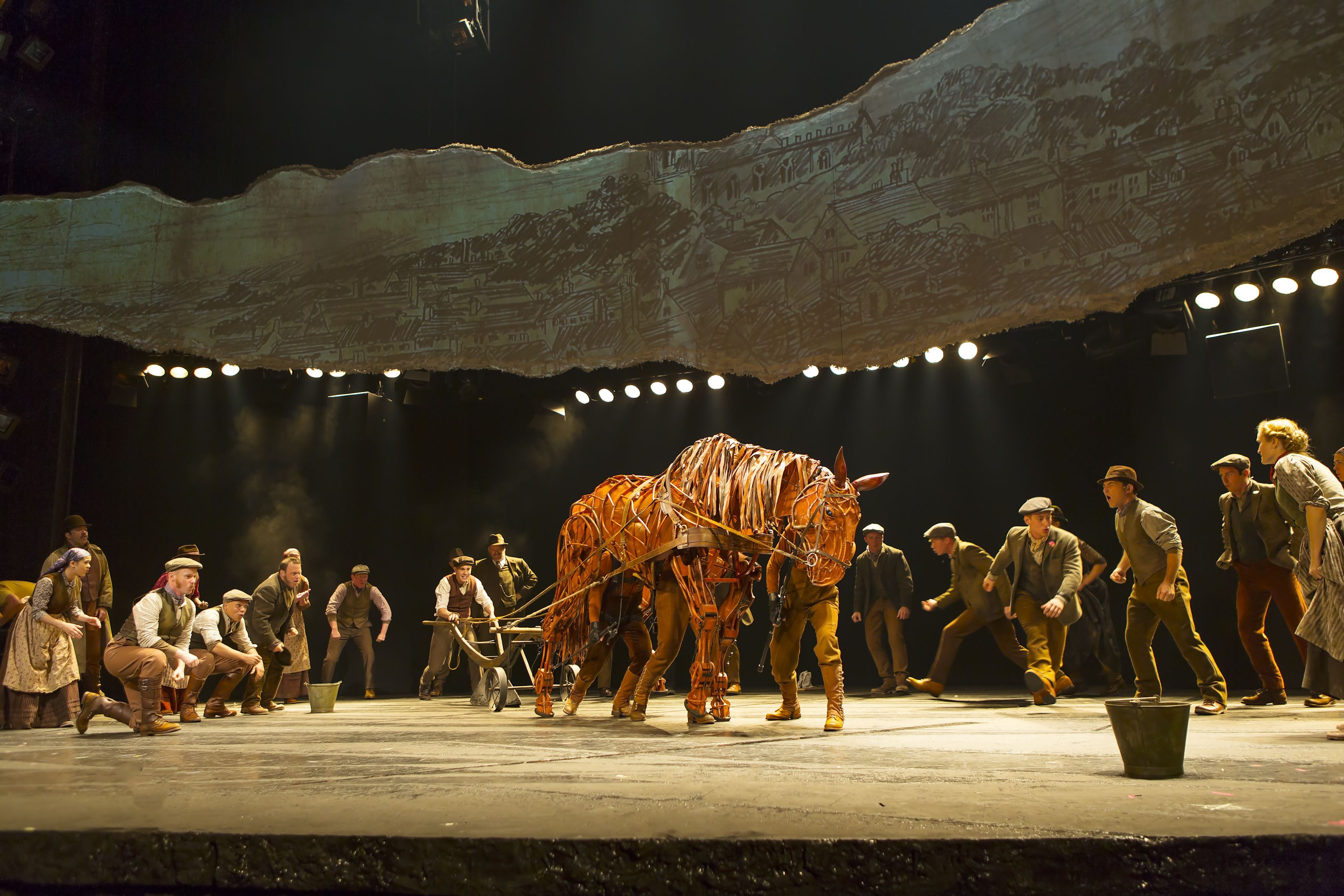 The Orpheum Theatre presents War Horse as part of the Harrahu0027s Tunica Broadway Series March 25 & The Orpheum Theatre presents War Horse as part of the Harrahu0027s ...