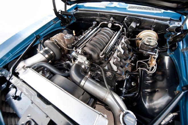 Turbocharged Ls Pro Touring Style 1969 Chevrolet Camaro Camaro Ls Engine Pro Touring