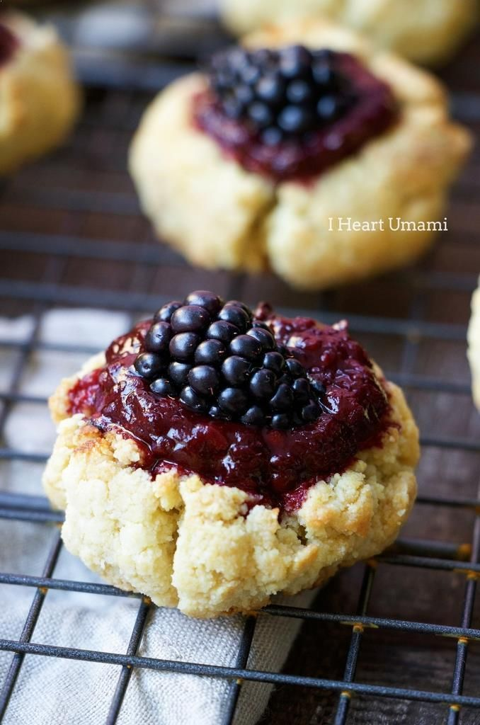 Blackberry Lemon Jam Thumbprint Cookies Sweet and tart Paleo Blackberry Lemon Jam Thumbprint Cookies are the best Paleo Christmas Cookie recipes for holiday and healthy treats.