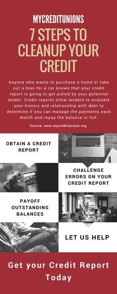 7 Steps to Cleanup Your Credit RePinned By: *Doniele Disney* www.poppiespaintpowder.com