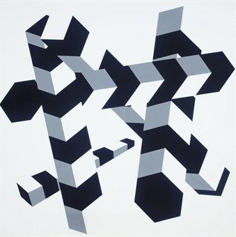Allan d'Arcangelo / Constellation #14, 1970