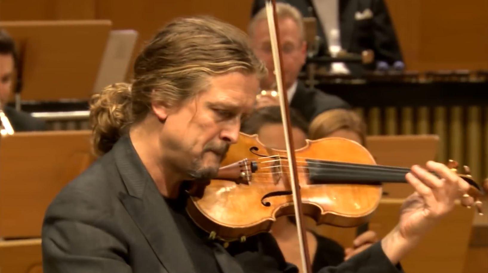 Gyorgy Ligeti Violin Concerto Christian Tetzlaff Gurzenich Orchester Koln Francois Xavier Roth Classical Music Violin Concert