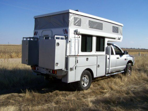 click to close pop up truck campers