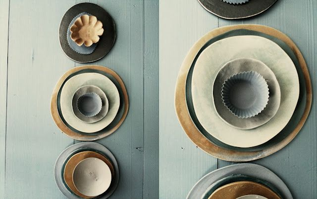 greenblue shades. ceramics and photos by dietlind wolf