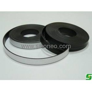 12 7mm X 1mm Thick With Self Adhesive Iron Rubber Magnet Strip Magnets Flexibility Adhesive