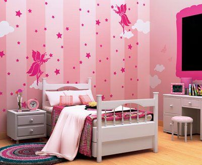 Theme Fairy Paint Colors For Living Room Girl Bedroom Walls