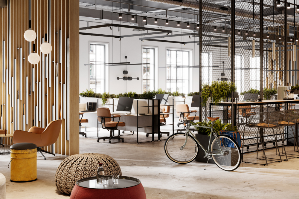 5 Ways To Make Your Office Space More Eco Friendly Office Interior Design Modern Modern Office Design Office Space Design