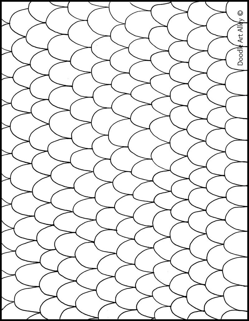 Free printable Infinity Coloring Pages from Doodle Art