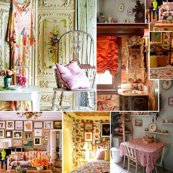 La decoracion de estilo maximalista combina estilos de for Estilos de muebles antiguos