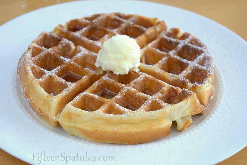 5 Secrets To Crisp Flavorful Golden Waffles Fifteen Spatulas Waffle Recipes Crispy Waffle Waffle Iron Recipes