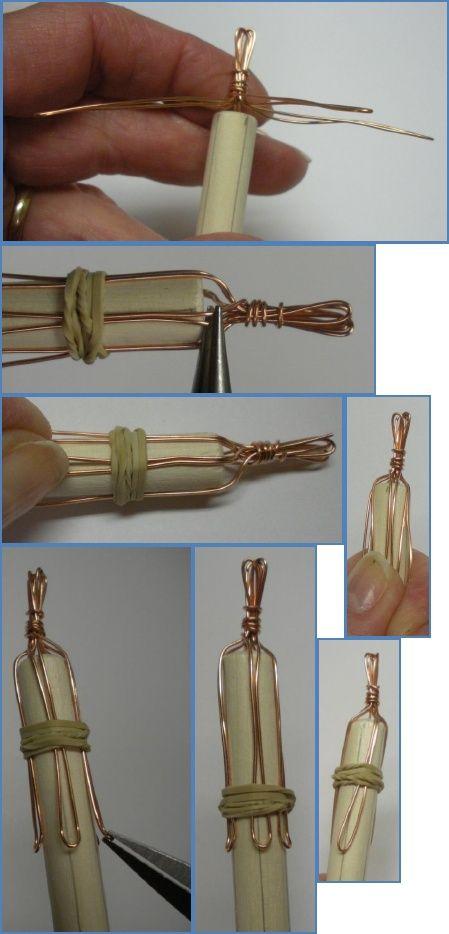 How to Make a Viking Knit Bracelet Tutorial. Looks like I might be ...