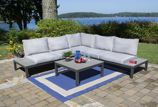 Lakeview Modern Outdoor Sectional Sofa For Sale Online Furniture